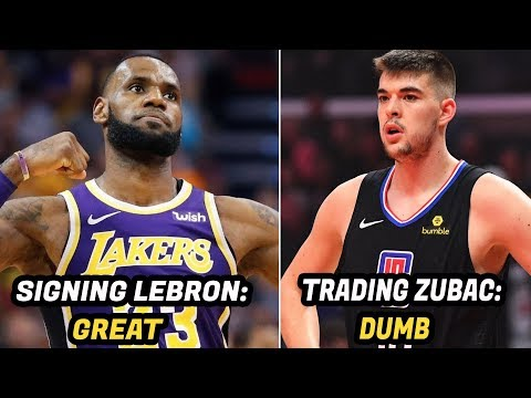Grading Every Lakers Move After Signing LeBron James: Then and Now