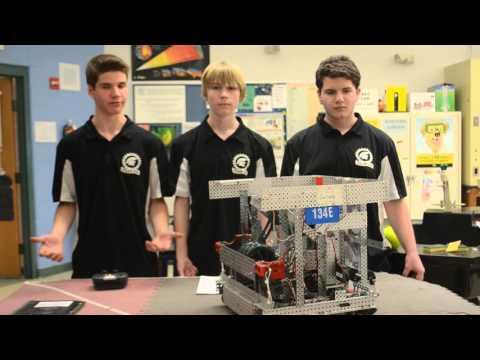 134E (Team Discovery-Echo) CREATE U.S. Open VEX Robotics Championship Judging Video