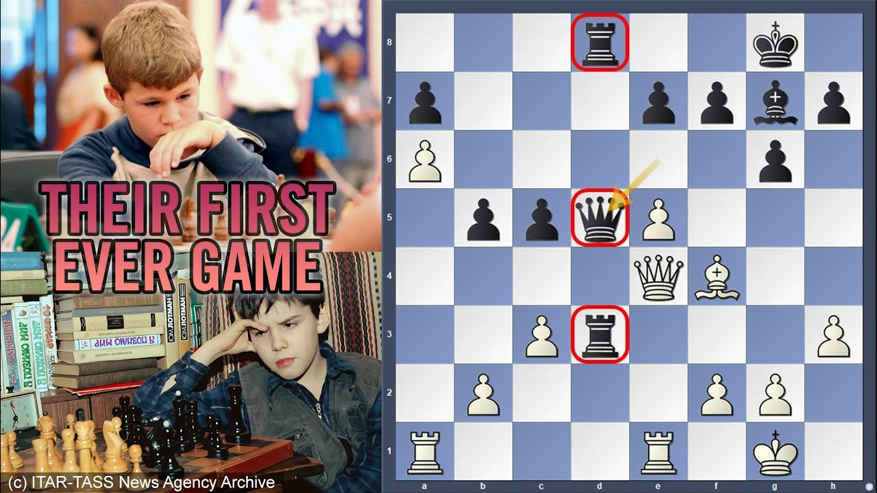 Download Their FIRST ever game | Ian Nepomniachtchi vs Magnus Carlsen