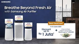 Samsung Indonesia: Tested to Kill Up to 99,97% of Germs & Bacteria!