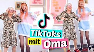 Meine OMA wird zum TIKTOK Star 😂 | ViktoriaSarina