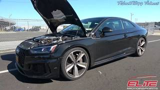 2019 Audi RS5 With Exhaust & Tune Goes 11.4 at 119mph