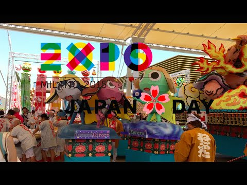 EXPO Milan 2015 - Japan Day Parade & Japan Pavillion (July 11, 2015)