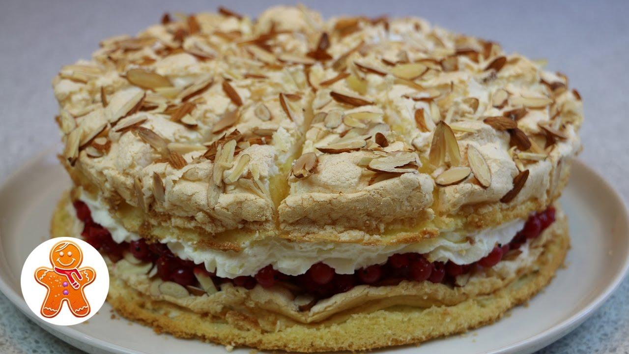 """Торт """"Небесный"""" легкий, воздушный и очень вкусный ✧ Himmelstorte ✧ Heaven Cake (English Su"""
