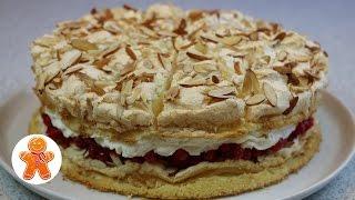 Торт 'Небесный' легкий, воздушный и очень вкусный ✧ Himmelstorte ✧ Heaven Cake (English Subtitles)