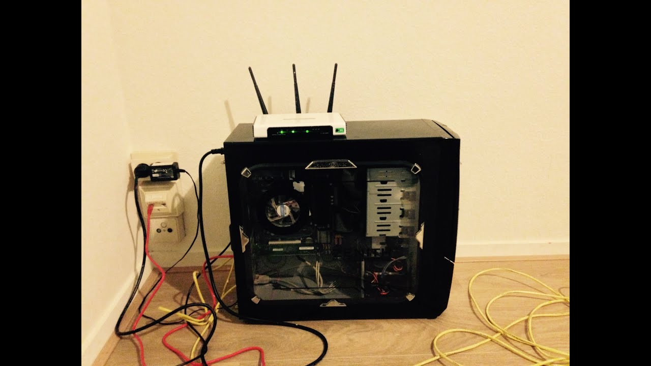 Setup PfSense on old hardware