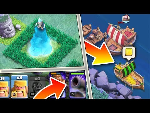 8 Features that Clash of Clans Should Have - New Hero, Treasure Boat, New Defence (Spire) + More!