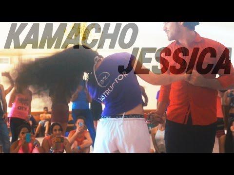 Kamacho + Jessica Lamdon Demo @ ZNL 2015 | Brazilian Zouk