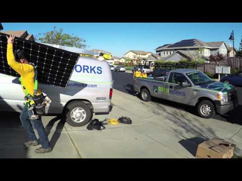 Sunworks Solar Install for SMA