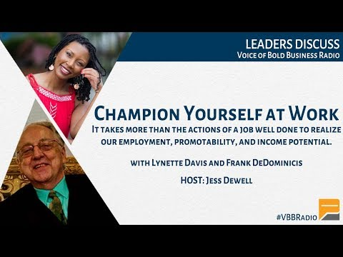 Champion Yourself at Work (p149)