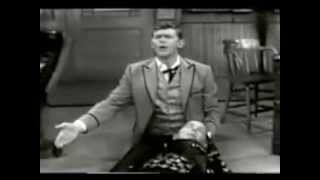 VINTAGE 1958 ANDY GRIFFITH COMEDY BIT WITH MILTON BERLE  - FRONTIER PSYCHIATRIST