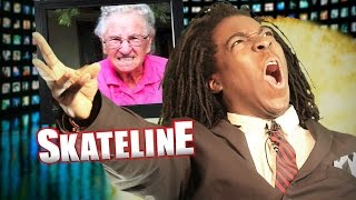 SKATELINE - Chris Cookie Colbourn, Felipe Gustavo On Adidas, Bucky Lasek, Bob Burnquist,