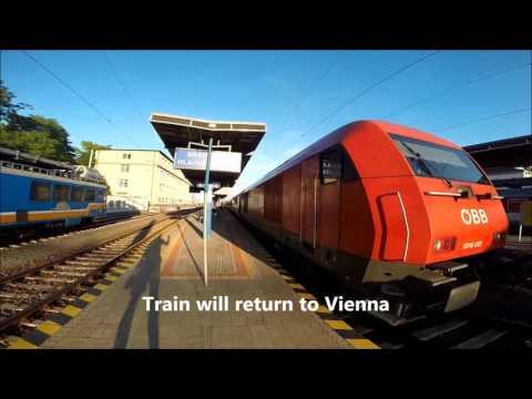 Train Journey Review: Vienna Austria to Bratislava Slovakia