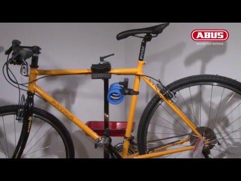 montage abus fahrradschloss halterung snap cage scmu. Black Bedroom Furniture Sets. Home Design Ideas