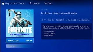 HOW TO UNLOCK NEW DEEP FREEZE BUNDLE IN FORTNITE! FREE NEW DEEP FREEZE BUNDLE SKIN