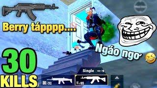 Trận đấu gặp quá nhiều NHẪN GIẢ | Càng quét map 30 KILLS SOLO vs SQUAD PUBG Mobile
