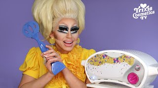 Trixie Mattel Tries to Make Pretzels in An Easy-Bake Oven