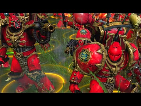 Astartes Mod 2021: Night Lords & World Eaters vs Space Marines - WH40K: Dawn Of War 2: Retribution  