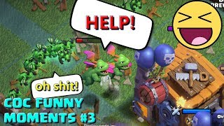 Clash Of Clans Funny Moments#3 ♦ COC Glitches, Fails, Wins and Trolls Compilation #3