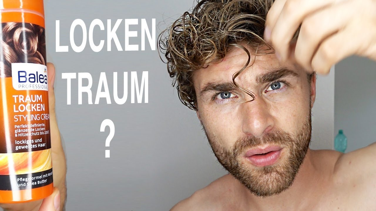 Locken Styling Produkte Locken Machen Haarstyling Produkt Test Review Balea Locken Traum Styling Cream Daniel Korte