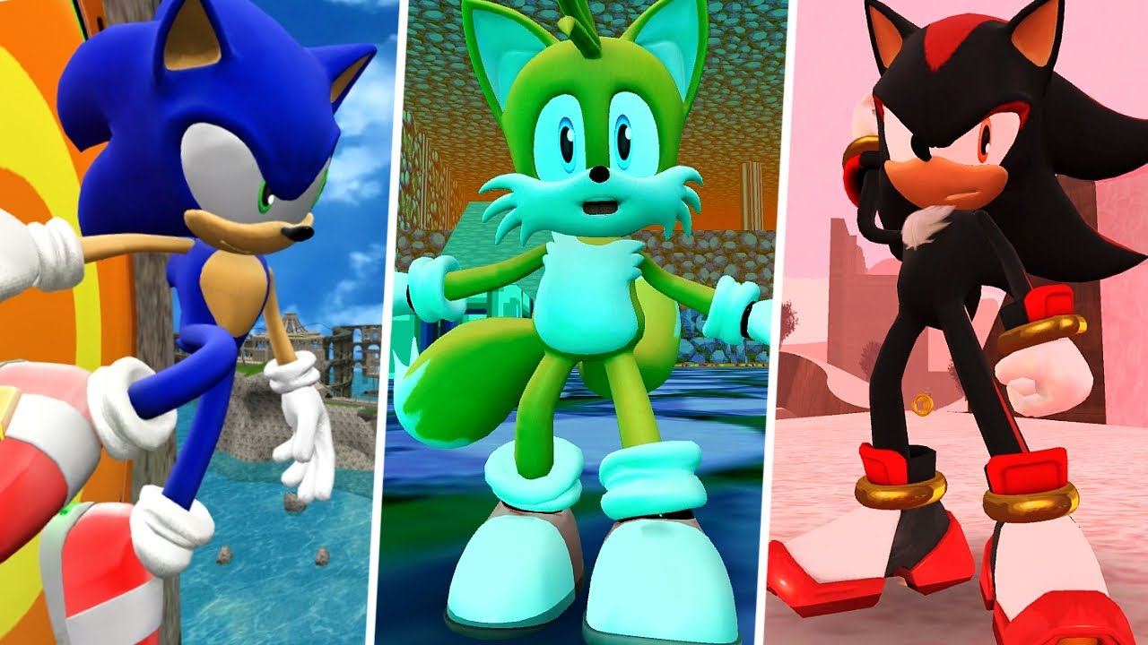 Sonic World DX: 3 New Stage Mods!
