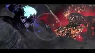 Evil Ryu VS Oni Akuma VS Asura