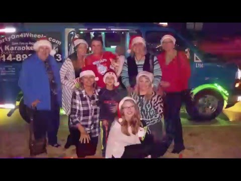 Clientes de Navidad  el taxi karaoke en Dallas Texas