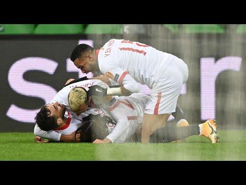 Sevilla 2:3 Dortmund | All Goals And Highlights | 17.02.2021 |Champions League Play Offs |PES