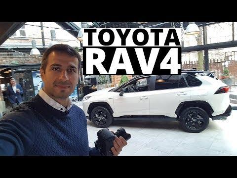 Toyota RAV4 2019 - Ameryka z zewnątrz, Europa w środku