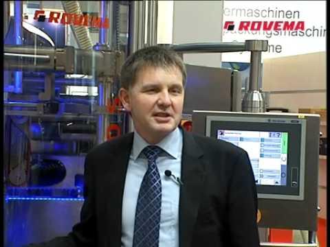 Interview with Mr Kuhn/Rovema at Interpack Fair 2011