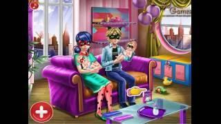 Ladybug Twins Family Day (Леди Баг и Супер Кот ухаживают за близнецами)