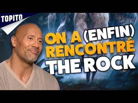 ON A RENCONTRÉ THE ROCK !