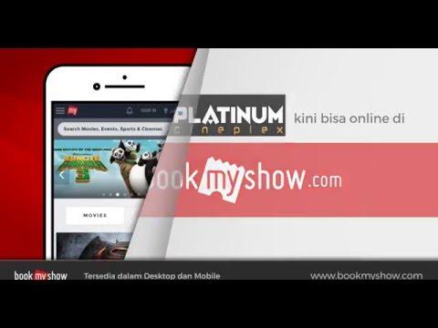 Cara Beli Tiket Online Platinum Cineplex Di Bookmyshow Indonesia
