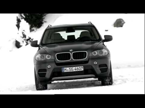 BMW X5 SUV 4x4 in the snow  YouTube