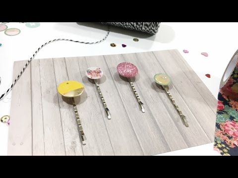 DIY Embellishments:  Decorative Clips