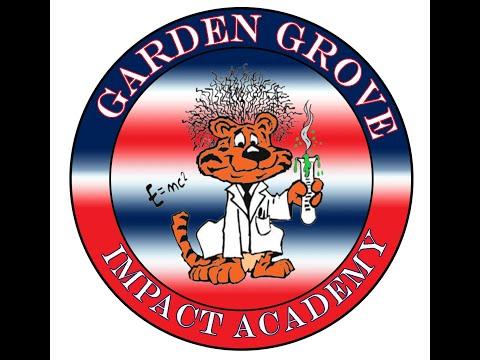 WELCOME TO GARDEN GROVE ELEMENTARY SCHOOL