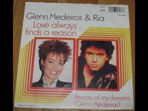 Glenn Medeiros vs Ria original very rare mp3 1989 Love always finds a reason