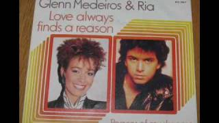 Glenn Medeiros vs Ria original very rare mp3 1989 Love always finds a reason