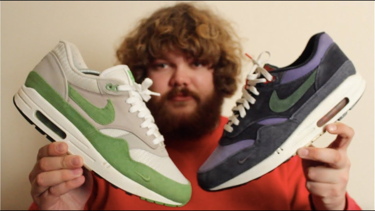 Nike Air Max 1 x Patta Corduroy Chlorophyll Comparison 2009