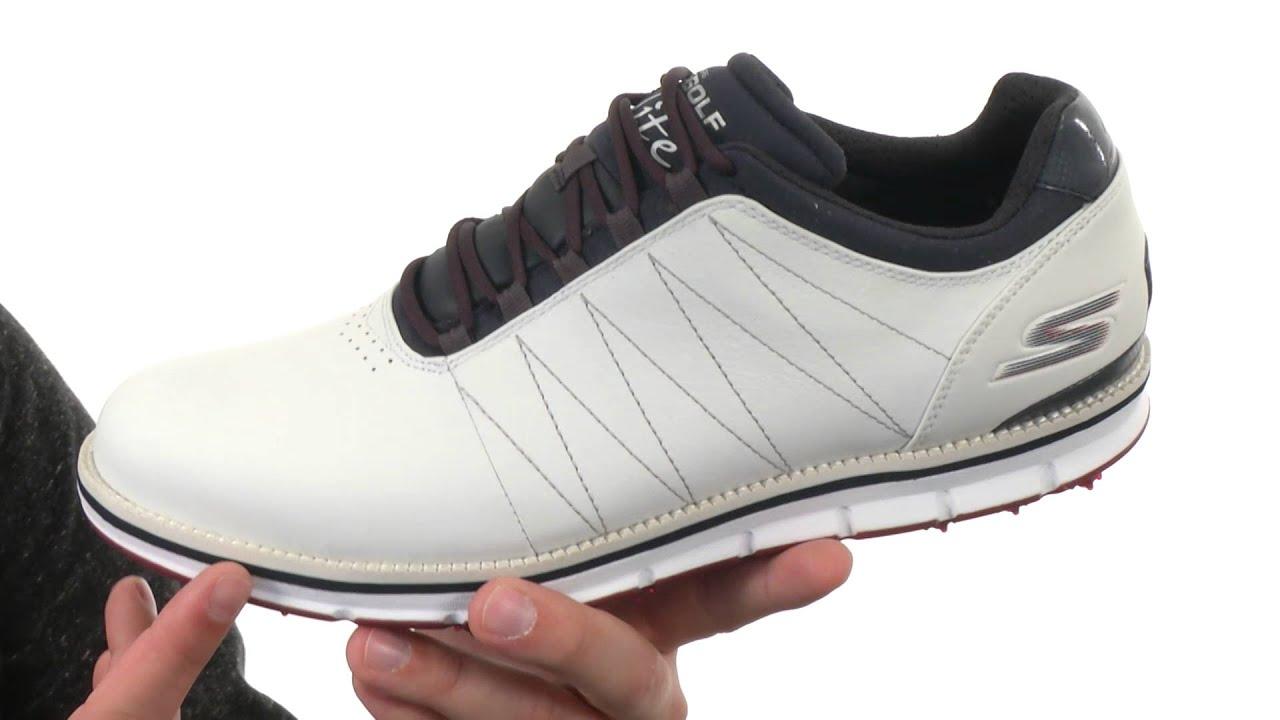 Insignia acoplador antes de  SKECHERS Performance Go Golf Tour Elite SKU: 8657628 - YouTube
