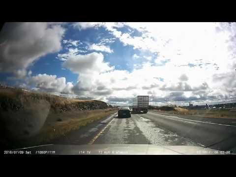 Time lapse: Seattle, WA to Arden Hills, MN via I-90/I-94 [No Sound]