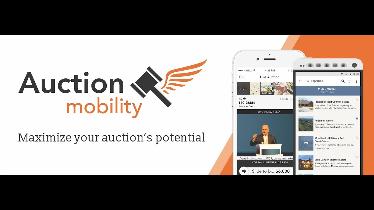 auction mobility app run your auctions seamlessly via mobile tablet web auctions