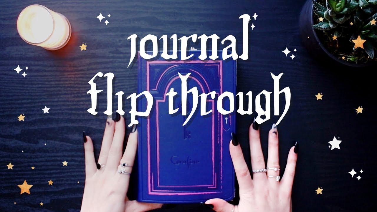 JOURNAL FLIP THROUGH ☾✧ life journal part two (oct - dec 2020)