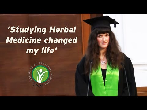 Studying Herbal Medicine changed my life.