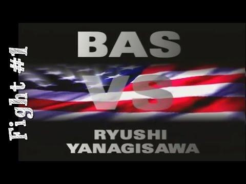 Bas Rutten's Career MMA Fight #1 vs. Ryushi Yanagisawa