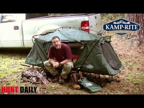 138 & Kamp-Rite Oversize Tent Cot - Product Review - YouTube