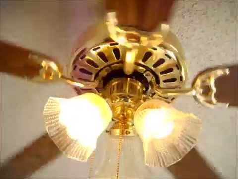 Ceiling fans in my house running on all speeds  YouTube