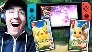 I AM SO EXCITED! || Pokémon: Let's Go, Pikachu & Eevee Trailer Reaction