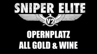 [Poradnik] Sniper Elite V2: Opernplatz. Ukryte sztabki oraz butelki![PC PS3 X360]