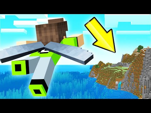 I Found MAIN LAND In Minecraft SKY BLOCK! (100% Complete)